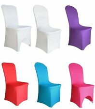New Spandex Lycra Chair Cover for Wedding Banquet Reception Party Event