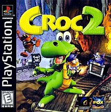 Croc 2 - Black Label - TESTED Complete Disc  PS1 (PlayStation 1) FREE SHIPPING