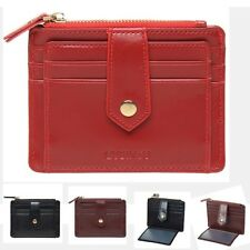 Graceful Womens PU Leahter Wallet Slim Credit Card Holder Case Zipper Purse Bags