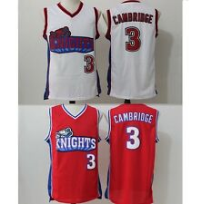 Calvin Cambridge #3 LA Knights Red White Basketball Jersey Like Mike Lil Bow Wow