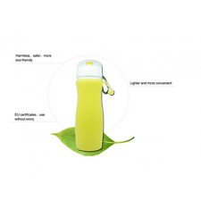 Portable Silicone Outdoor Sports Foldable Camping Travel Running Water Bottle