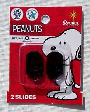 NEW SETS OF 2 PEANUTS SNOOPY PROJECT-O-RAMA PROJECTOR NIGHT LIGHT HOLIDAY SLIDES