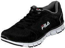 FILA COMET RUN MENS SHOES TRAINERS SNEAKERS RUNNING SHOES 4010249.25Y BLACK