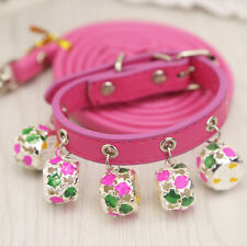 Chihuahua Teacup Dog Collar and Leash Set Pet Puppy Standard Collar XXS/XS/Small