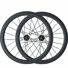 50mm Tubular Carbon Wheels Road Bicycle Road Wheel Track Fixed Gear Wheelset