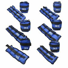 Ankle Weights Resistance Strength Training Gym Exercise Wrist Bracelets Straps
