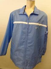 mens NIKE ZIP UP jacket jogging running windbreaker track sz XL baby blue CLEAN