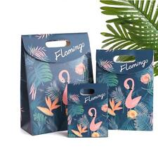 6pcs Flamingo Paper Treat Bags Carry Bags Wedding Party Shopping Party Loot Bags