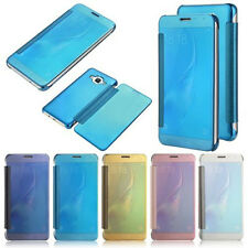 2017 Luxury Mirror Smart Flip Wallet Case Cover For Samsung A5/7 S6/S7/S8 iPhone
