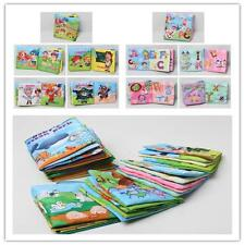 6 Style Cognize Books Development Intelligence Cloth Book Baby Kids Useful Toy