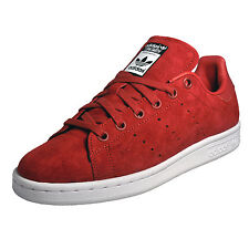 Adidas Originals Stan Smith By Rita Ora Womens Girls Suede Classic Trainers Red