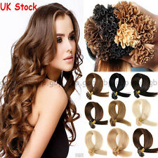 200S Pre Bonded 100% Remy Human Hair Extensions Nail U Tip Keratin 0.5g/1g A502