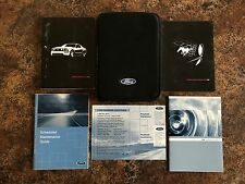2006 Ford Mustang Owners Manual w/ Case & Supplements - #H