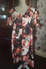 Ladies asos curve plus size party/wedding/christening dress size 26 worn once