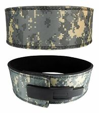 Powerlifting Lever Buckle Camouflage Belt Strongman Crossfit Gym Weight Lifting