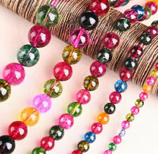 Colorful Wholesale Natural Round Spacer Loose Beads Jewelry DIY Makings 4 - 12MM