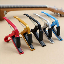 New Classic Guitar Quick Change Clamp Key Guitar Capo For Acoustic Electric