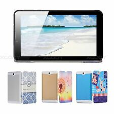 Tablet PC 7'' Android 4.4 Dual Core 8GB Dual Camera Wifi Unlocked 3G Phablet