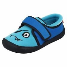 Boys Clarks Machine Washable Monster Design Slippers 'Cuba Rise'