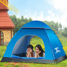 Instant Automatic PopUp Dome Camping Hiking Waterproof Family Tent 3 Person US