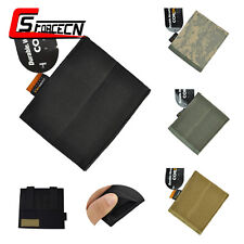 Airsoft Tactical Nylon Open Top Molle Magazine Pouch Mag Flashlight Holster Bag