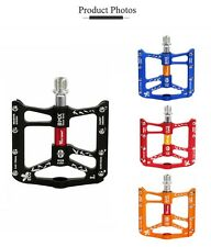 Cycling Cleats Pedals Aluminum BMX Road Mountain Bike Pedal Cycling Cleats