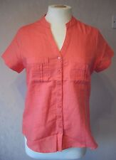 New M&S - size 10 - 18 - lovely PINK LADIES linen mix ladies TOP/tunic - BNWoT