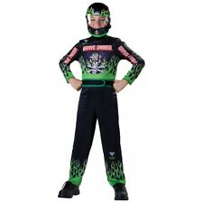 Grave Digger Costume Kids Monster Jam Truck Halloween Fancy Dress