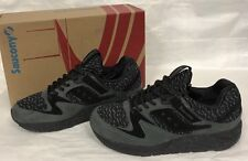 Saucony Knit Grid 9000 S70302-2 Black Brand New In Box