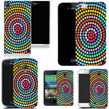 hard back case cover for many mobiles -  swirling circle