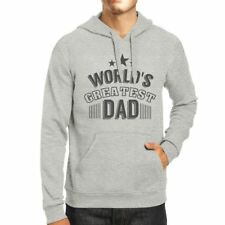 Worlds Greatest Dad Mens Grey Hoodie Fathers Day Gift From Daughter