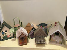Decorative Birdhouses & Watering Cans