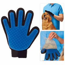 1 x True Touch Deshedding Five Finger Desheding Glove Gentle Massage UK STOCK