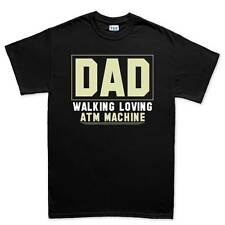 Dad ATM Father Daddy New Gift Mens T shirt Tee Top T-shirt
