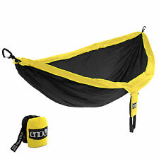 Eagles Nest Outfitters ENO DoubleNest Hammock - Black and Yellow