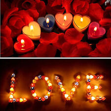 10pcs/box scented Candle Romantic Wedding Party Decor Smokeless Tealight Candle
