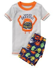 NWT Gymboree Boys Gymmies Pajamas set Tickle monster Shortie