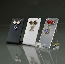Jewelry Necklace Pendant Earring Acrylic Display stand showcase Holder Organizer