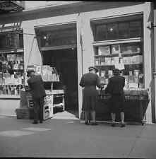 A 1943 Photo showing a street Book shop in New Orleans, Louisiana,United States