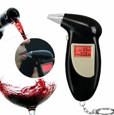 Digital LCD Breath Alcohol Breathalyzer Analyser Tester Detector Keychain @F