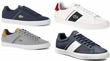 Lacoste Men's Fairlead Sport GLD 2 SPM/HECG SPM Leather Trainers - All Sizes