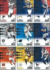 2016 Panini Contenders Football Base Cards - Complete Your Set - Pick Your Card
