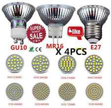 4PCS E27/GU10/MR16 LED Spotlight 3W 4W 5W 6W Bulb 24 29 48 60SMD Lamp Light OY