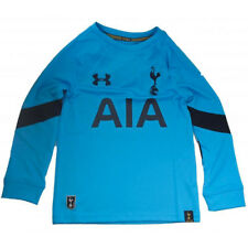Tottenham Hotspur Spurs Under Armour mens blue goalkeeper football shirt 2016-17