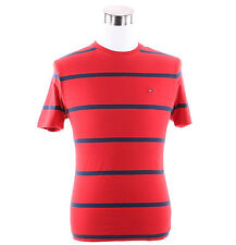Tommy Hilfiger Mens Short Sleeve Stripe Crew-Neck Tee T-Shirt -$0 Free Ship