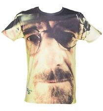 Official Men's Breaking Bad Walter Face Sublimation T-Shirt