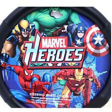 Disney Marvel Avengers Hulk/Iron Man Car Steering Wheel Cover