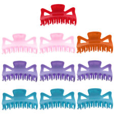 10Pcs Fashion 95mm Women Lady Large Hair Claw Jaw Clip Clamp Hair Accessories