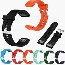 Quick Release Silicone Strap Watch Band For Garmin Fenix 5S Multisport GPS Watch