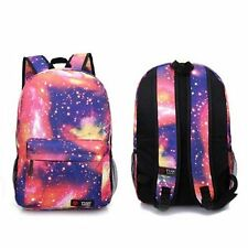 Women Mens Canvas Backpack School Travel Rucksack Satchel Fashion Shoulder Bags